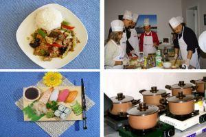 Kurumsal yemek mutfak aktivitesi