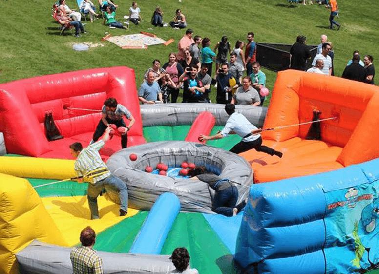 kurumsal piknik organizasyonu-aktiviteler-şişme-oyun