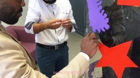 animation fresque avec artiste aNa