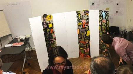 fresque participative avec groupe