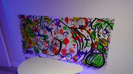 fresque de cupkiller avec my art box