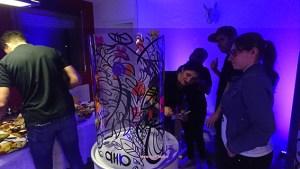 animation fresque en bidon lyon