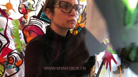animation_fresque_pour_evenement_paris