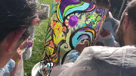 fresque Genève