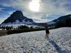 Snow in the summer!