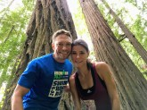 Running through the Redwoods