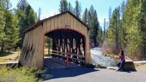 Love the wooden bridge