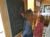 They loved the RV chalkboard