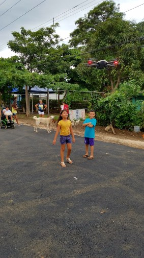 Kids loved the drone!