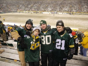 2013 - Packers Steelers at Lambeau