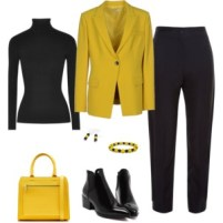 Black and Gold - Work Wear 1