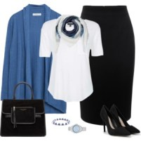Light Blue and White 2