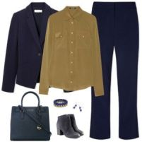Navy Blue and Gold 1