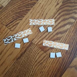 Pic 5b - cut half inch magnets