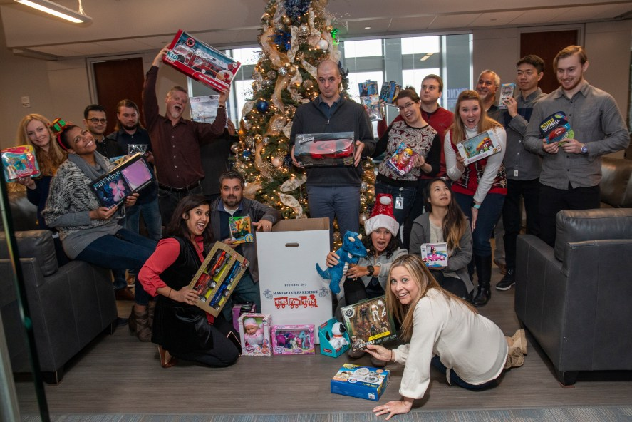 Toys for Tots Marketing Contributions