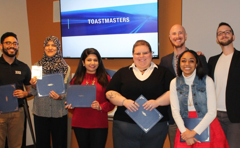 Copart Employee Places First at Toastmasters Speech Contest