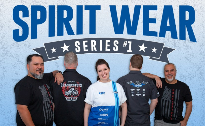 Introducing Copart/CrashedToys Spirit Wear: Series 1