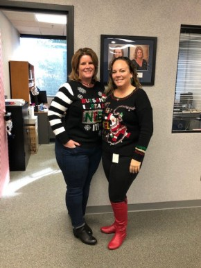 Sam & Sarah Ugly Christmas Sweater at KY TP