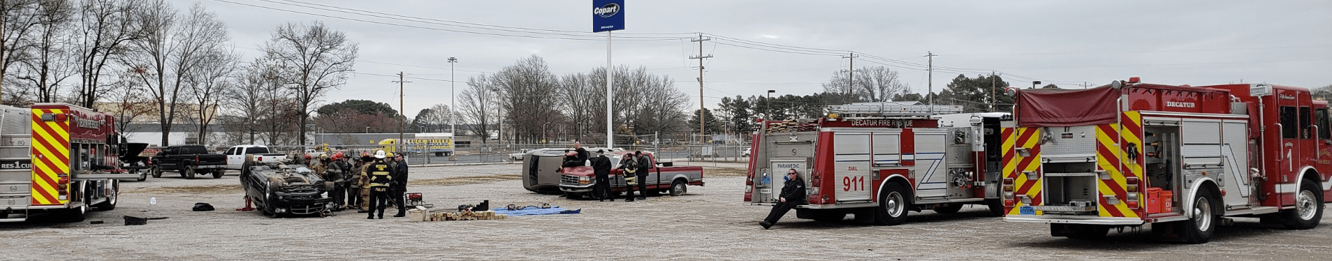 Alabama Fire College Training at Yard 66 3