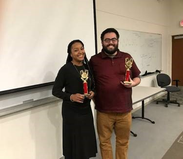 Toastmasters Winners Andres Marquez and Sherby Warner go on to Division Contest after 1st place win