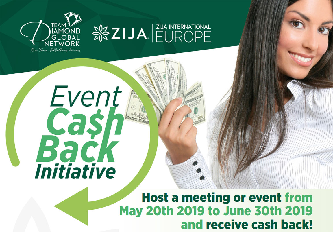 European Event Cash Back Initiative