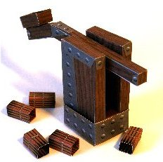 Paper catapult game