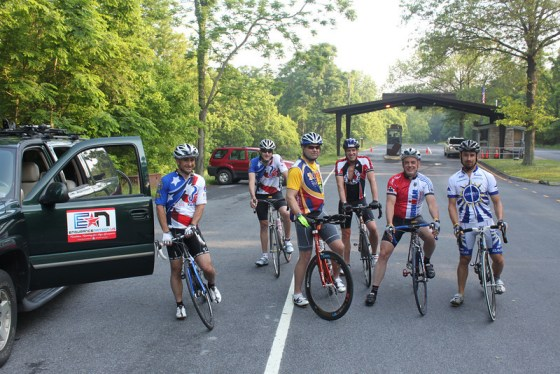 Blue Ridge Cycling Camp Start