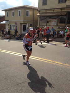 Dottie Caitlyn on the Run at Lake Placid 2012