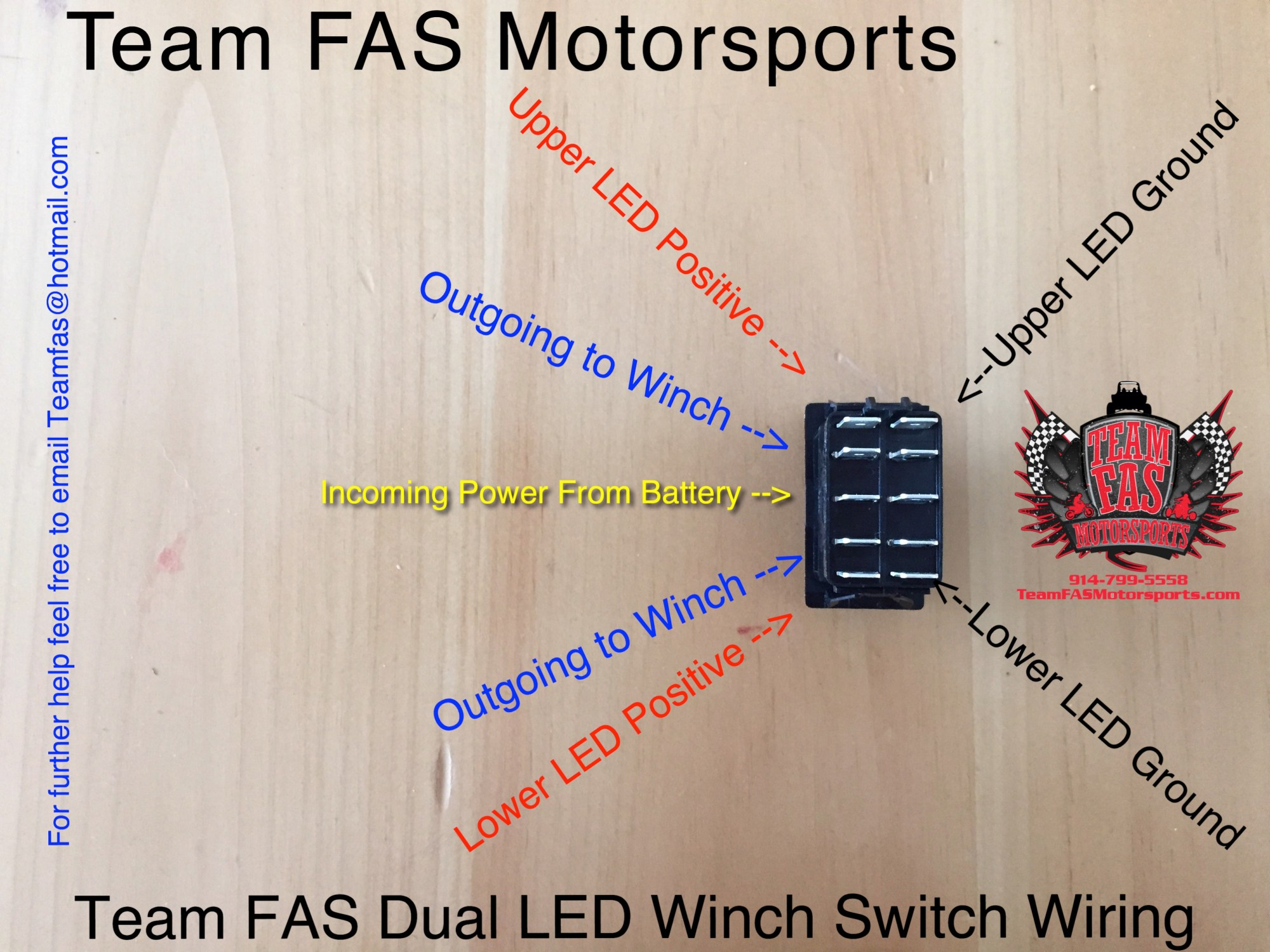 hight resolution of team fas motorsports rzr headlight switch