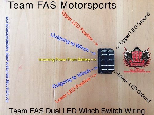 small resolution of team fas motorsports rzr headlight switch