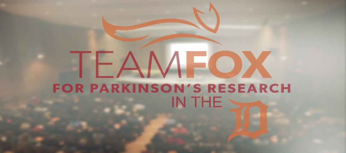 team fox for parkinson's research in the d glossy logo cropped