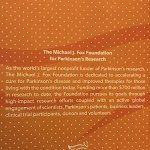 2017 team fox mvp the michael j. fox foundation for parkinson's research dedication statement