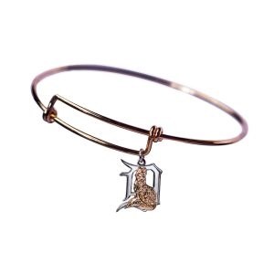 Lucky Fox Gold Bangle Bracelet