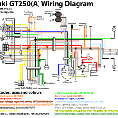Ct90 Wiring Diagram Food Suzuki Gt250 Electrical Work  Tgr Team Ghetto Racing