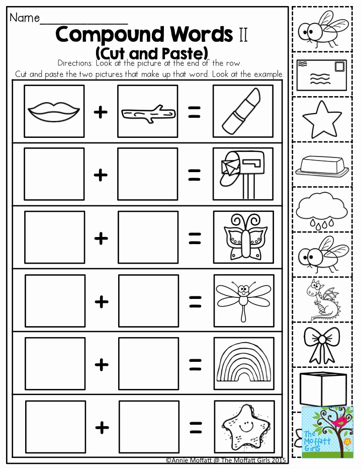 Diy 30 Creative Free Printable Compound Word Worksheets