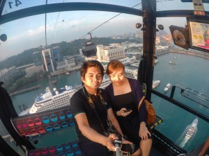 singapore cable car experience
