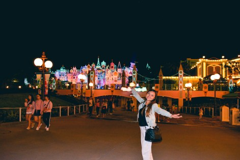 Hong Kong Disneyland castles