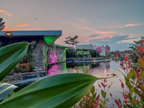 The Garden Travel DIY lake
