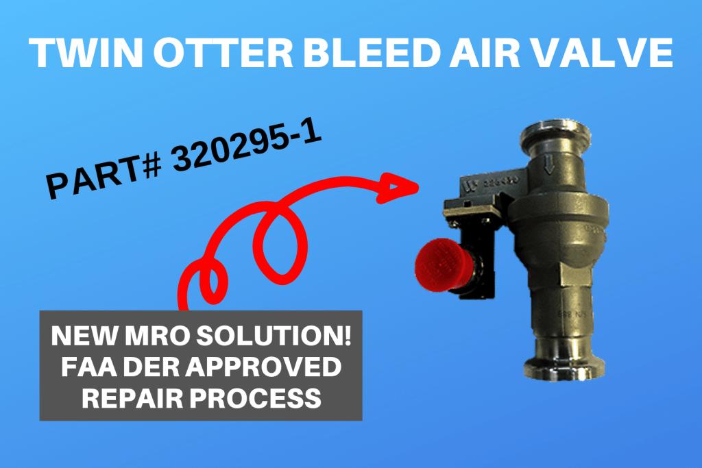 Twin Otter Bleed Air Valve 320295-1