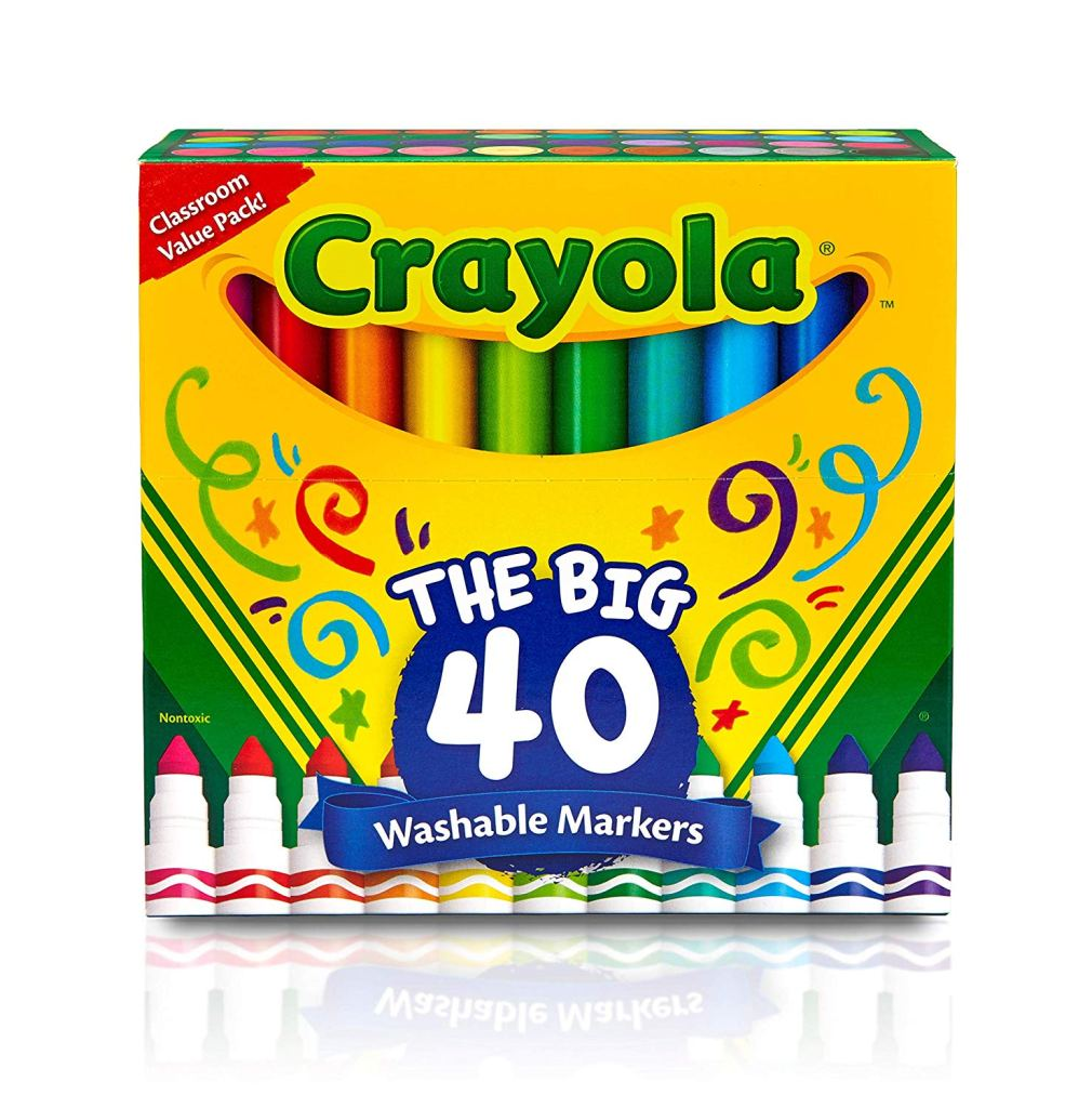 Picture of 40 Crayola Markers pack.