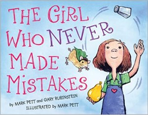 Picture of the cover for the book - The Girl Who Never Made Mistakes