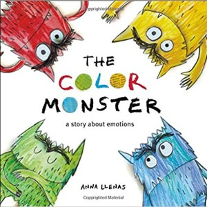 Picture of the cover for the book The Color Monster