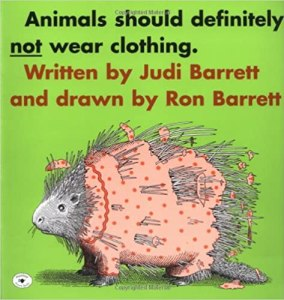 Book Cover for Animals Should Definitely Not Wear Clothing