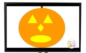 Photo of Google Slides™ Create a jack-o-lantern activity.