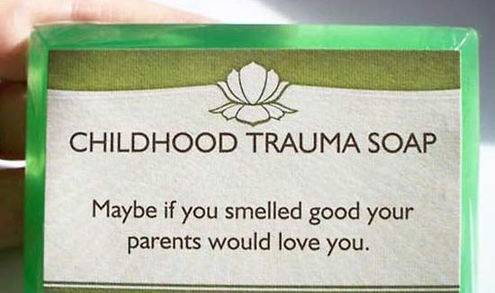 Childhood Trauma Soap ~ 16 Funny Pics & Memes