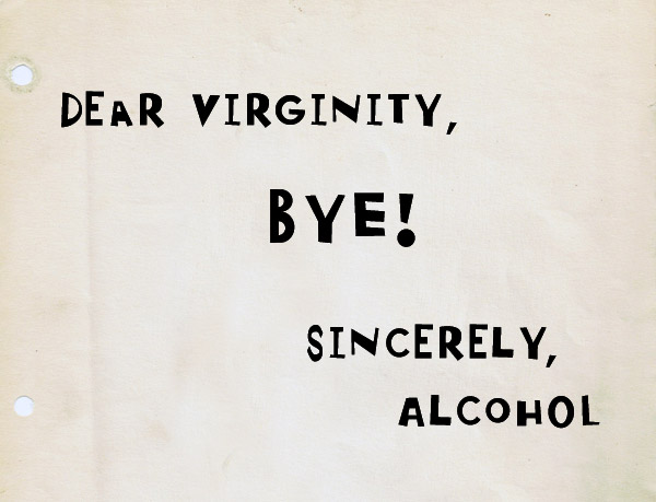 say bye to virginity