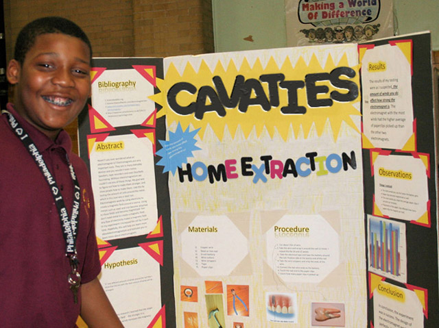 27 Funny Science Fairs with Projects that Rock! ~ Cavities Home Extraction: 8th grade