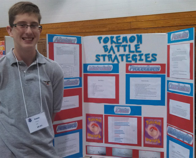 27 Funny Science Fairs with Projects that Rock! ~ Pokeman Battle Strategies High School