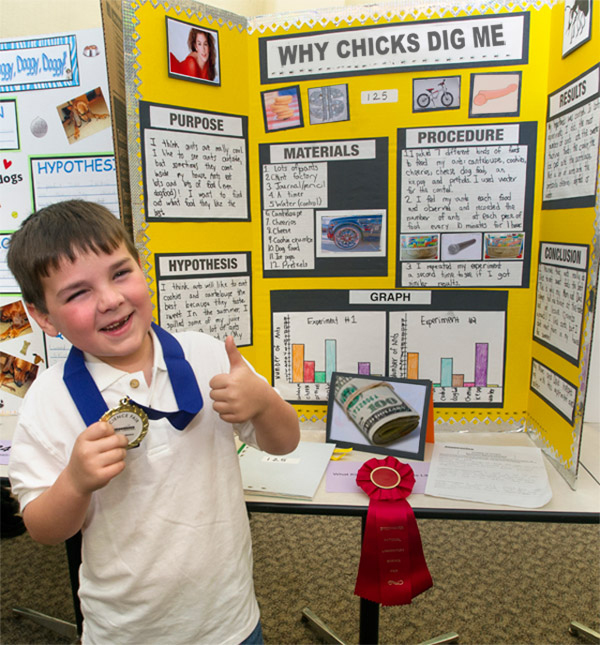 27 Funny Science Fair Projects That Win in Their Own Right ... Science Fair Projects For 8th Grade Board