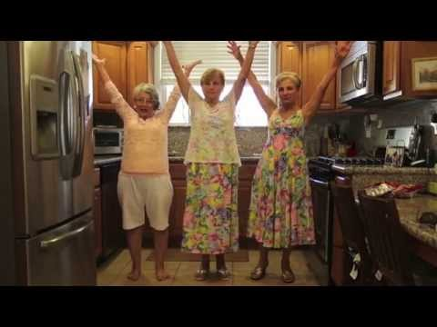 Moms rocking out and dancing to tie your mother down by queen